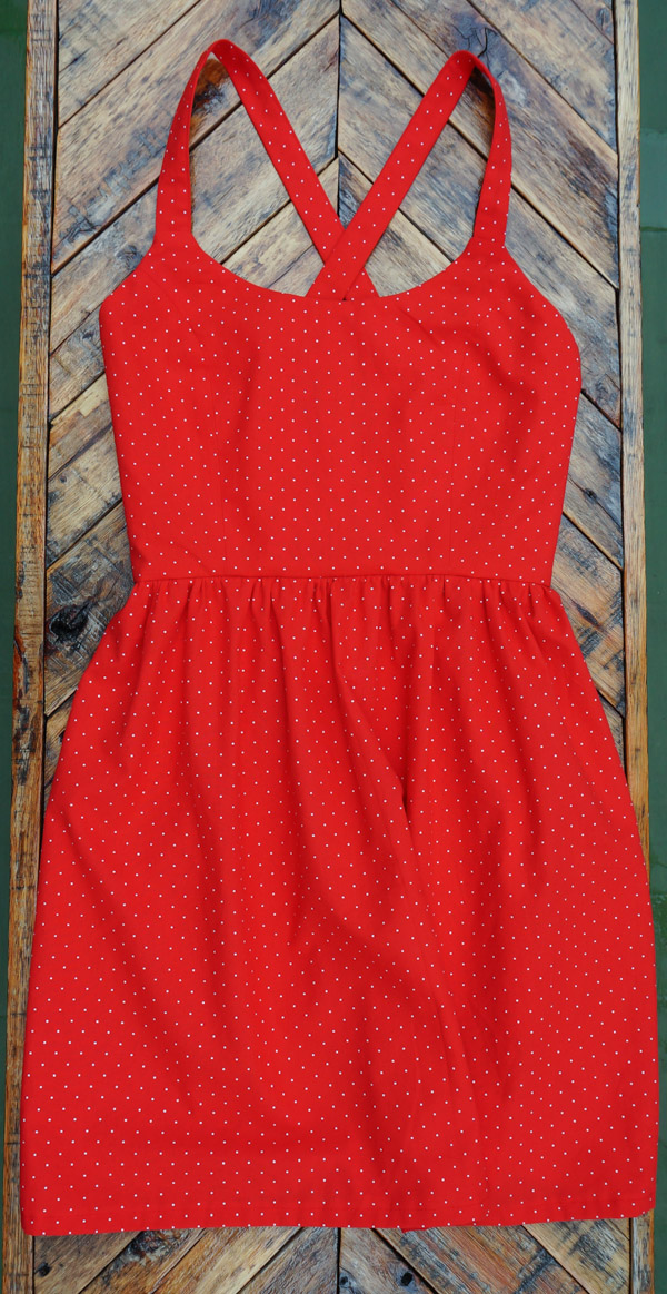 Cecis-red-polka-dot-summer-dress